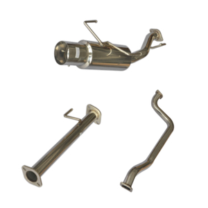 02-XX Sentra Stainless Steel Customizable Exhaust System