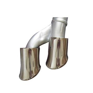 Porsche Cayenne Cayenne Stainless Steel 304 Mirror Polished Exhaust Tip