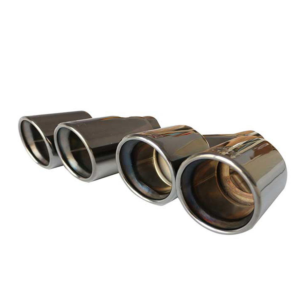 High Performance Mirror Polished Automobile SS304 Exhaust Tip