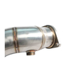 BMW 135i 335i E82 E87 E81 E90 E91 E92 N54 Stainless Steel 304+brushed thickness 1.5mm exhaust downpipe