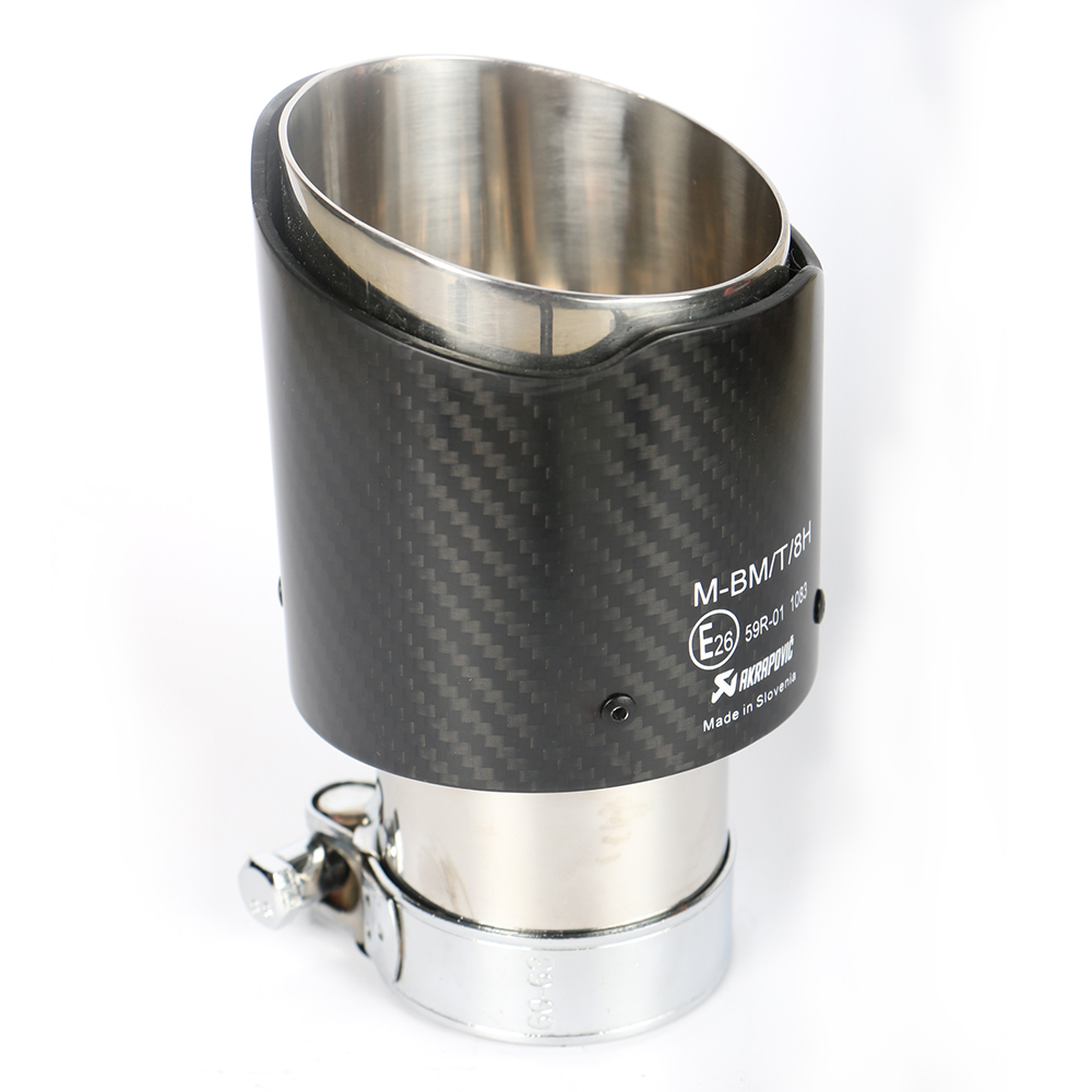 GRWA Stainless Steel 304 Carbon Fiber Exhaust Tip