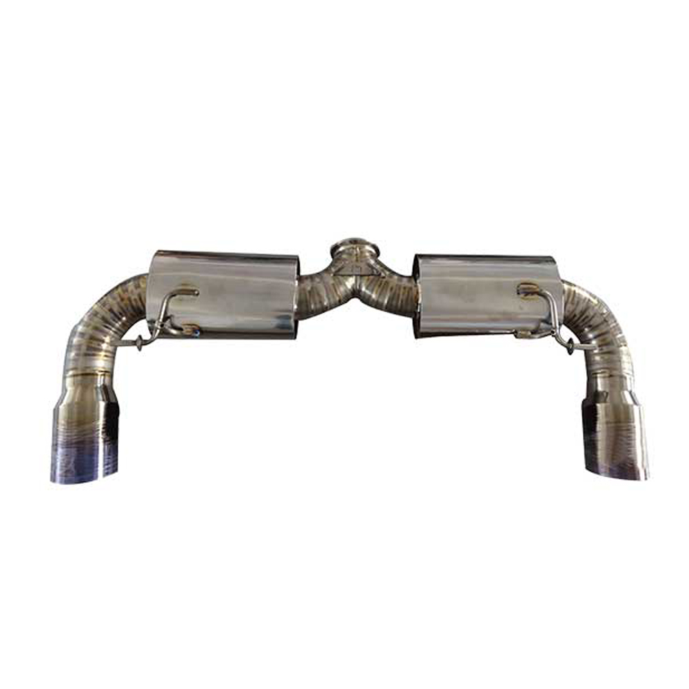 HyperTi Titanium exhaust with front pipe for SUBARU BRZ TOYOTA 86 Scion FRZ Titanium Alloy Exhaust System