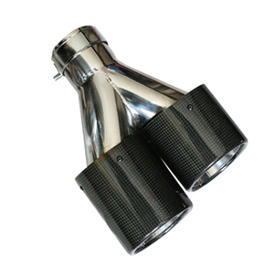 Stainless Steel 304 Carbon Fiber Exhaust Tip