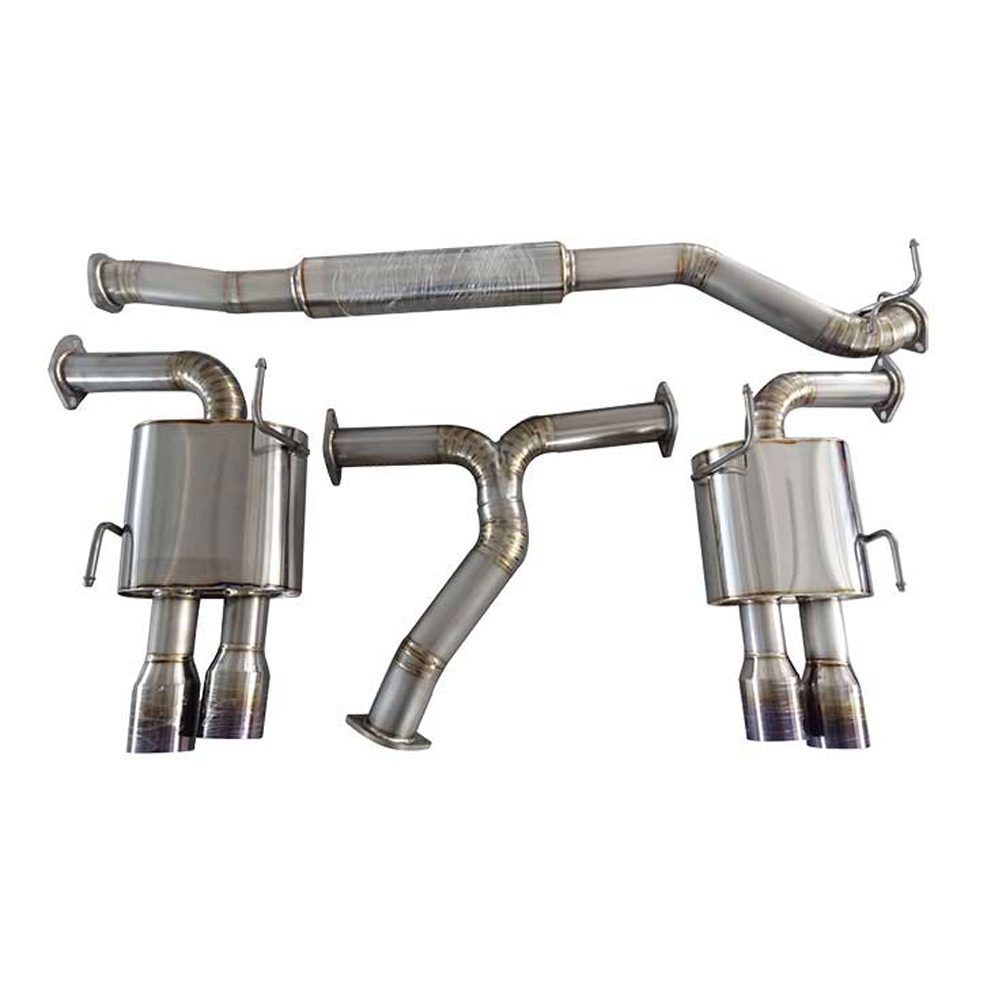 subaru impreaz wrx sti gvb/f sedan 7/10-on Titanium Alloy Exhaust System