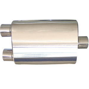 Stainless 201 Dual Universal Car Exhaust Muffler