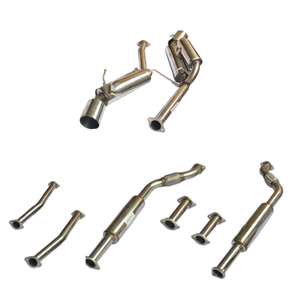 03-07 350Z Stainless Steel Customizable Car Exhaust System
