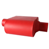 Aluminum-plated Red Paint Heat-resistant Exhaust Muffler