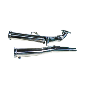 VOLKSWAGEN GOLF MK5 Audi A3 VW Golf 5/6 Stainless Steel 201+mirror polishing exhuast downpipe