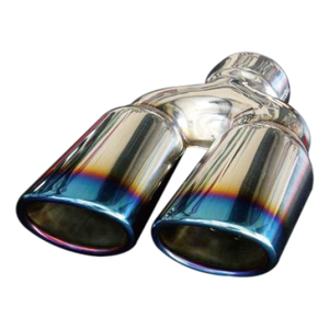 Grwa Popular Dual Universal Ss201 Exhaust Tip