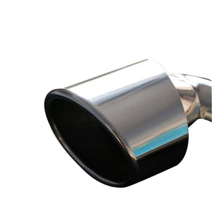 Porsche 911 Stainless Steel 304 Mirror Polished Exhaust Tip