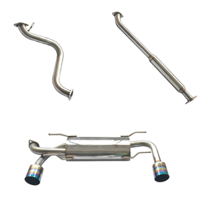 BR-Z/FR-Z stainless steel customizable car exhaust system