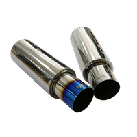 Development of exhaust muffler