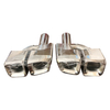 Hot Sale Bright Stainless Steel 304 Benz W212 E63 Exhaust Tip